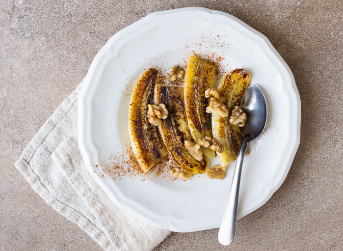 Caramelized Bananas with Ghee and Cinnamon | Reclaiming Yesterday