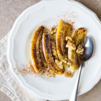 Caramelized Bananas with Ghee and Cinnamon