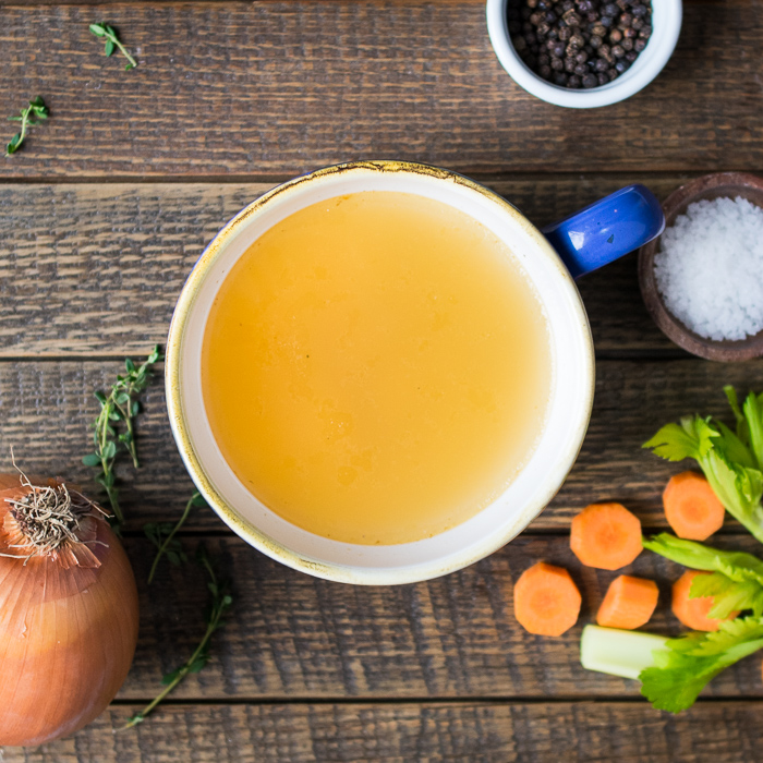 Gut Healthy Bone Broth | Reclaiming Yesterday