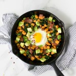 Sweet Potato Hash with Kale and Bacon | Reclaiming Yesterday