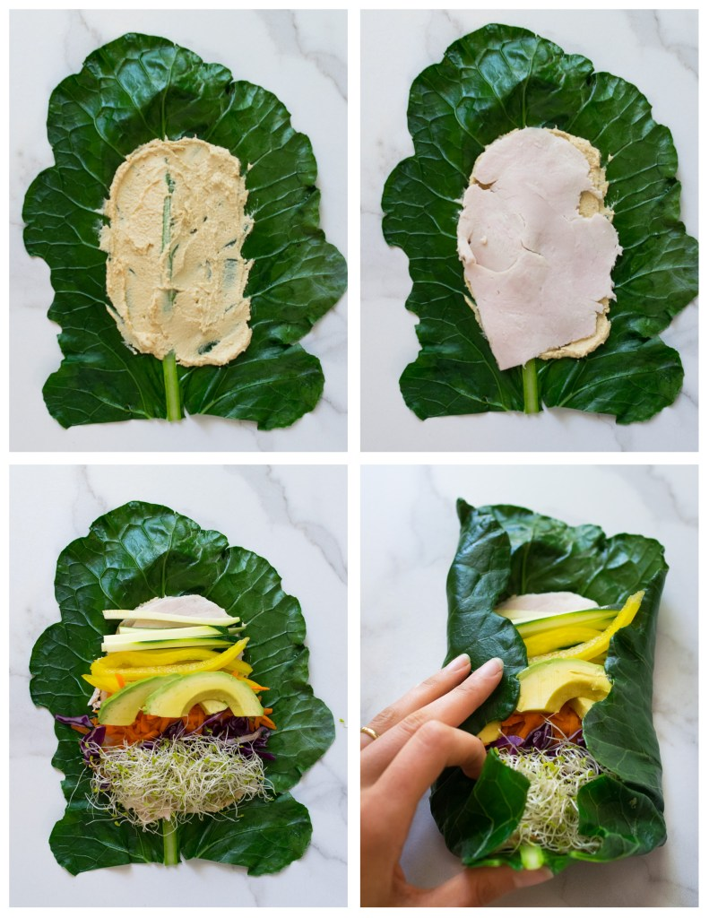 How to Wrap a Collard Wrap | Reclaiming Yesterday