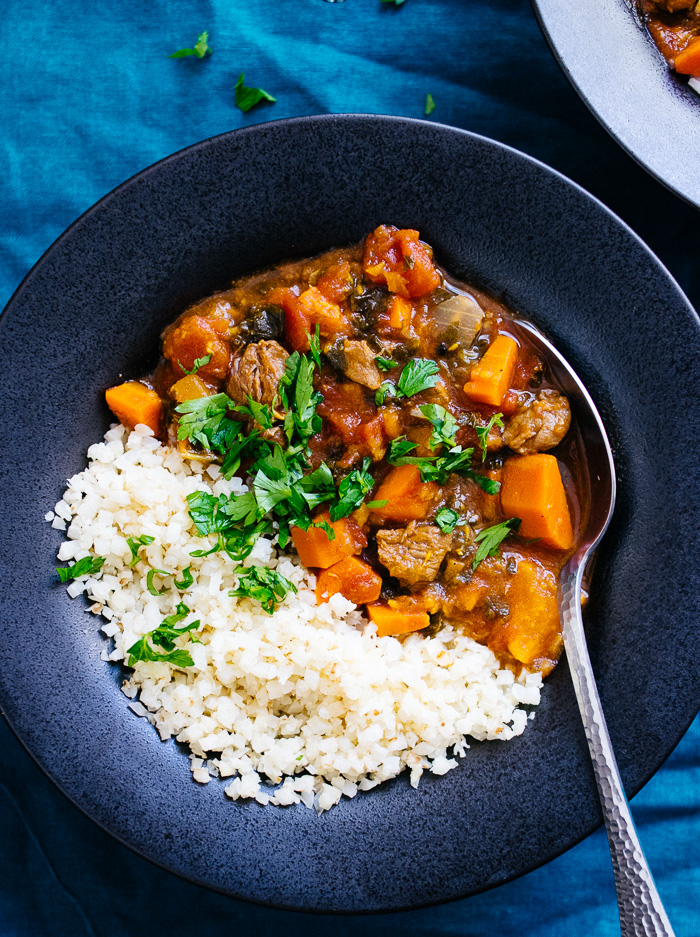 Instant Pot Moroccan Lamb Stew