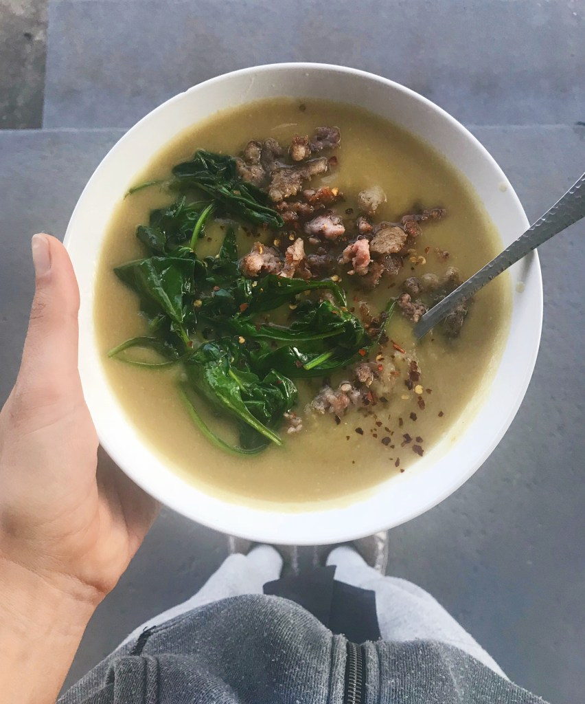 My Go-To Bone Broth Soup | Reclaiming Yesterday