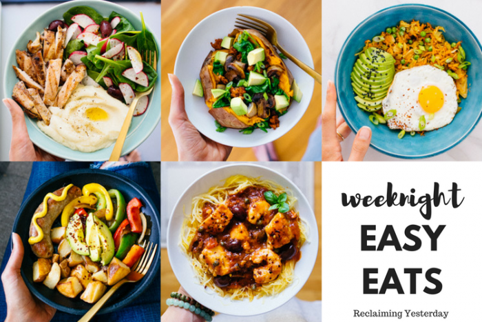 5 Nights of Easy Eats | Reclaiming Yesterday