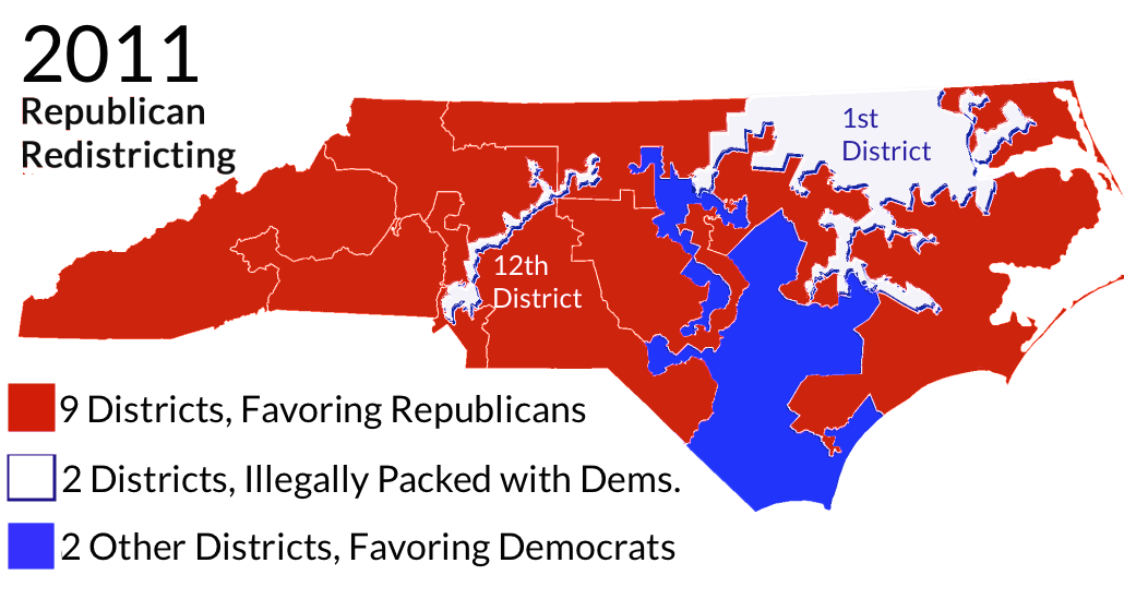 Image result for racial gerrymandering