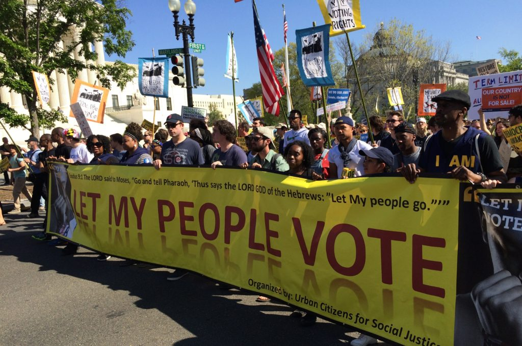 Image result for protests for voters rights photos