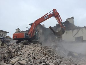 Demolition +  Excavation