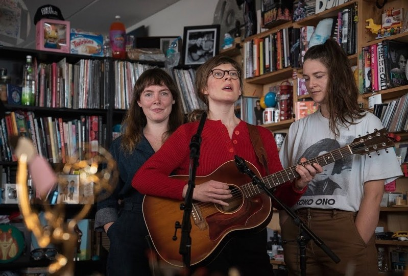 Featured Image: Mountain Man at NPR Music Tiny Desk Concert