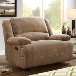 cuddler recliner chair