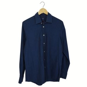 Camisa com pintas azuis - reCloset roupa em segunda mão