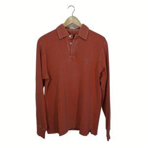 Polo rosa velho de manga comprida - reCloset roupa em segunda mão