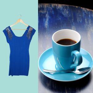 Vestido azul | reCloset roupa em segunda mão