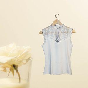 Blusa branca com renda - reCloset roupa em segunda mão