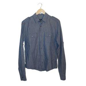 Camisa cinza azulado - reCloset roupa em segunda mão