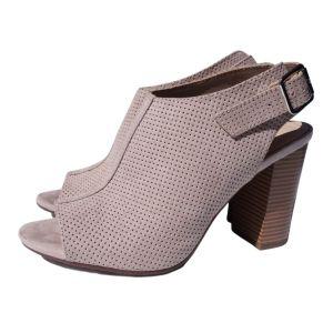 Sandálias rosa de salto alto - reCloset roupa em segunda mão