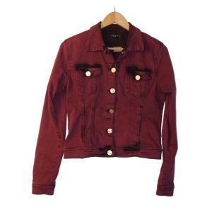 Blusão de ganga rosa velho - reCloset roupa em segunda mão