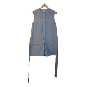 Macacão de calção azul claro - reCloset roupa em segunda mão