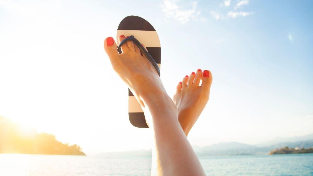 Reutilizar chinelos de praia - reCloset