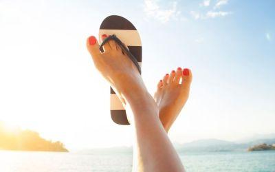 Chinelos de praia – #1 Dos pés à cabeça