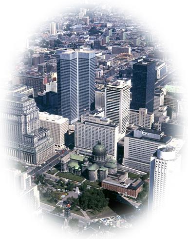 Montréal vue Cathédrale