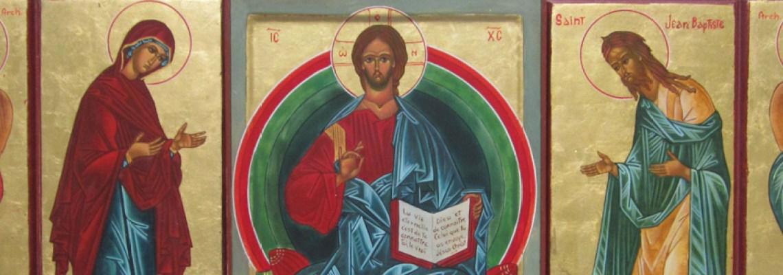 Prier avec une icône