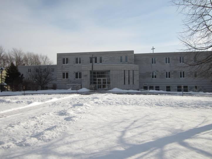 photo monastère hiver