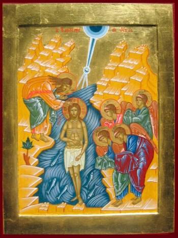 Baptême de Jésus de sr Jacqueline r.m.