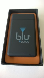 Smoker trying the blu e-cig premium kit