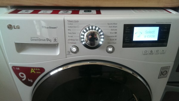LG True Steam Washing Machine Review
