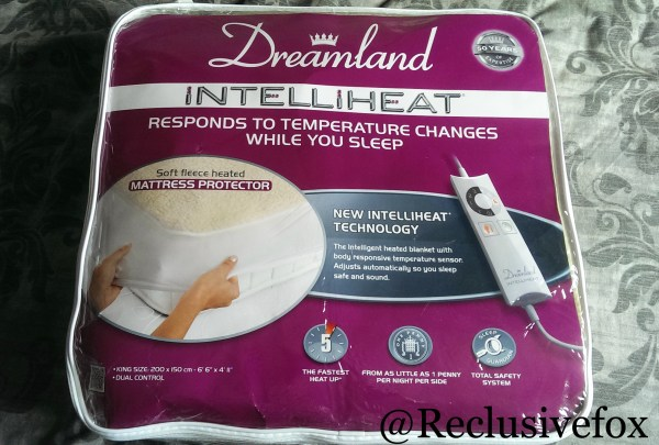 Dreamland Intelliheat Premium Fleece Mattress Protector