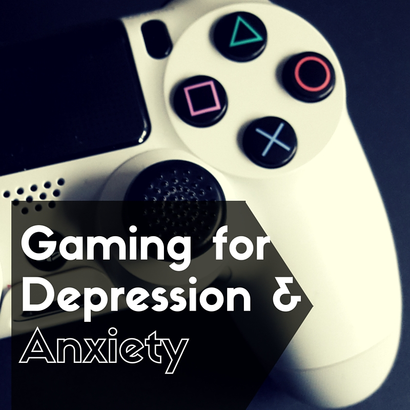 Gaming for anxiety and depression