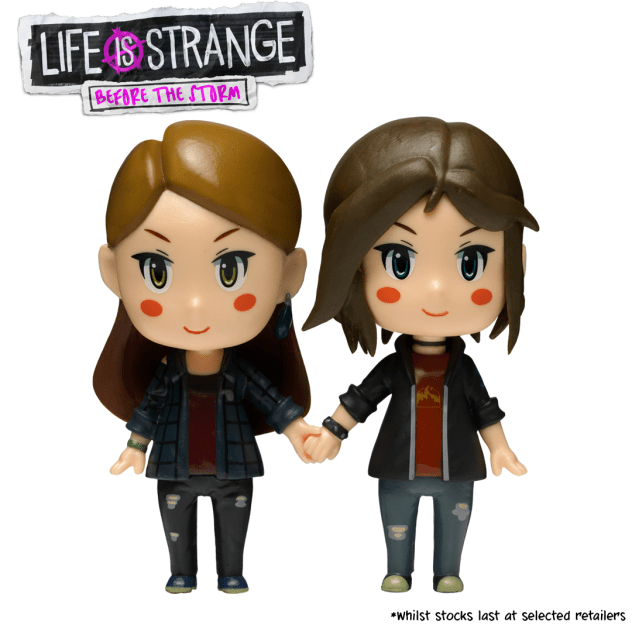 Chloe & Rachel figurines Life is Strange