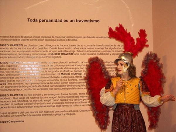Giuseppe Campuzano, Museo Travesti del Perú