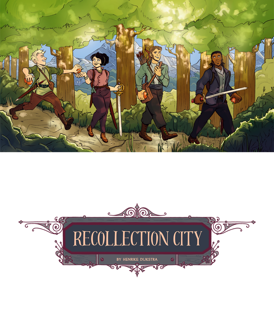 Recollection City, a brand new webcomic, dedicated to my family