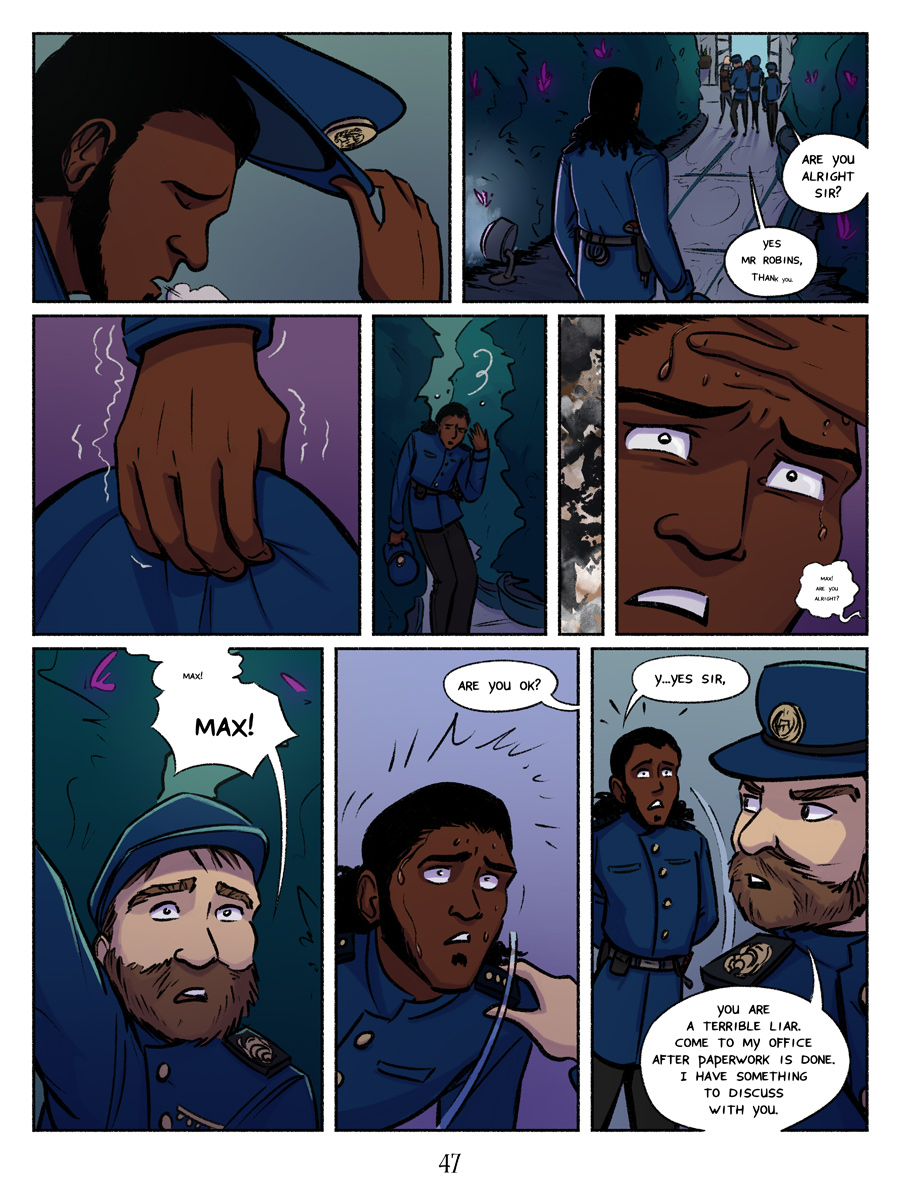 Recollection City page 47 - Panic