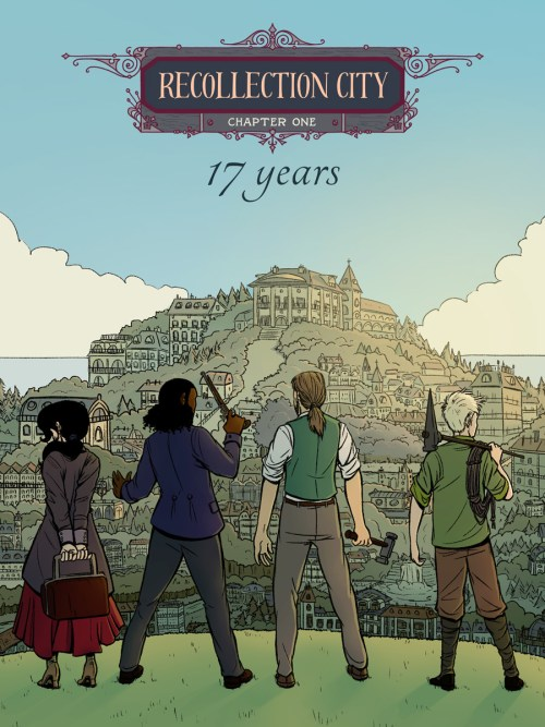 Recollection City chapter 1 cover page
