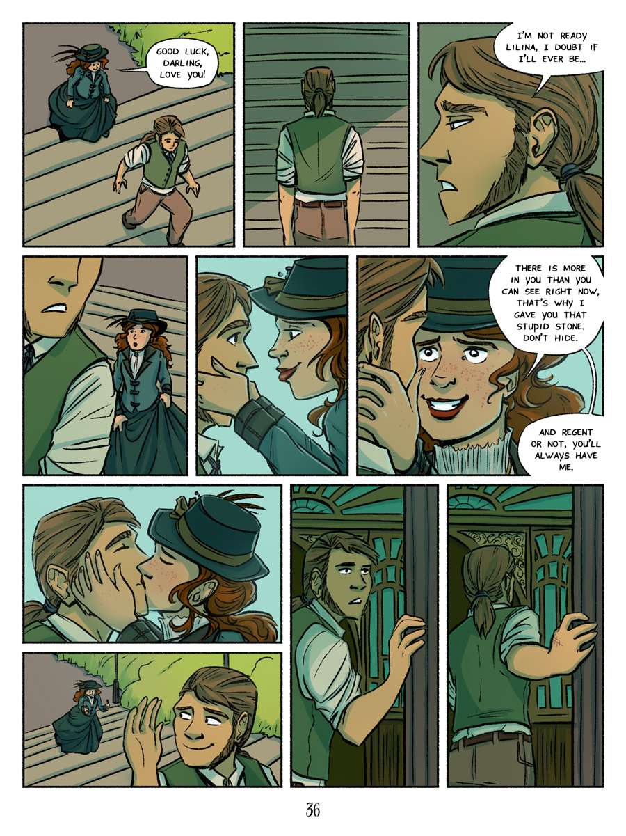 Recollection City page 36 - smooches