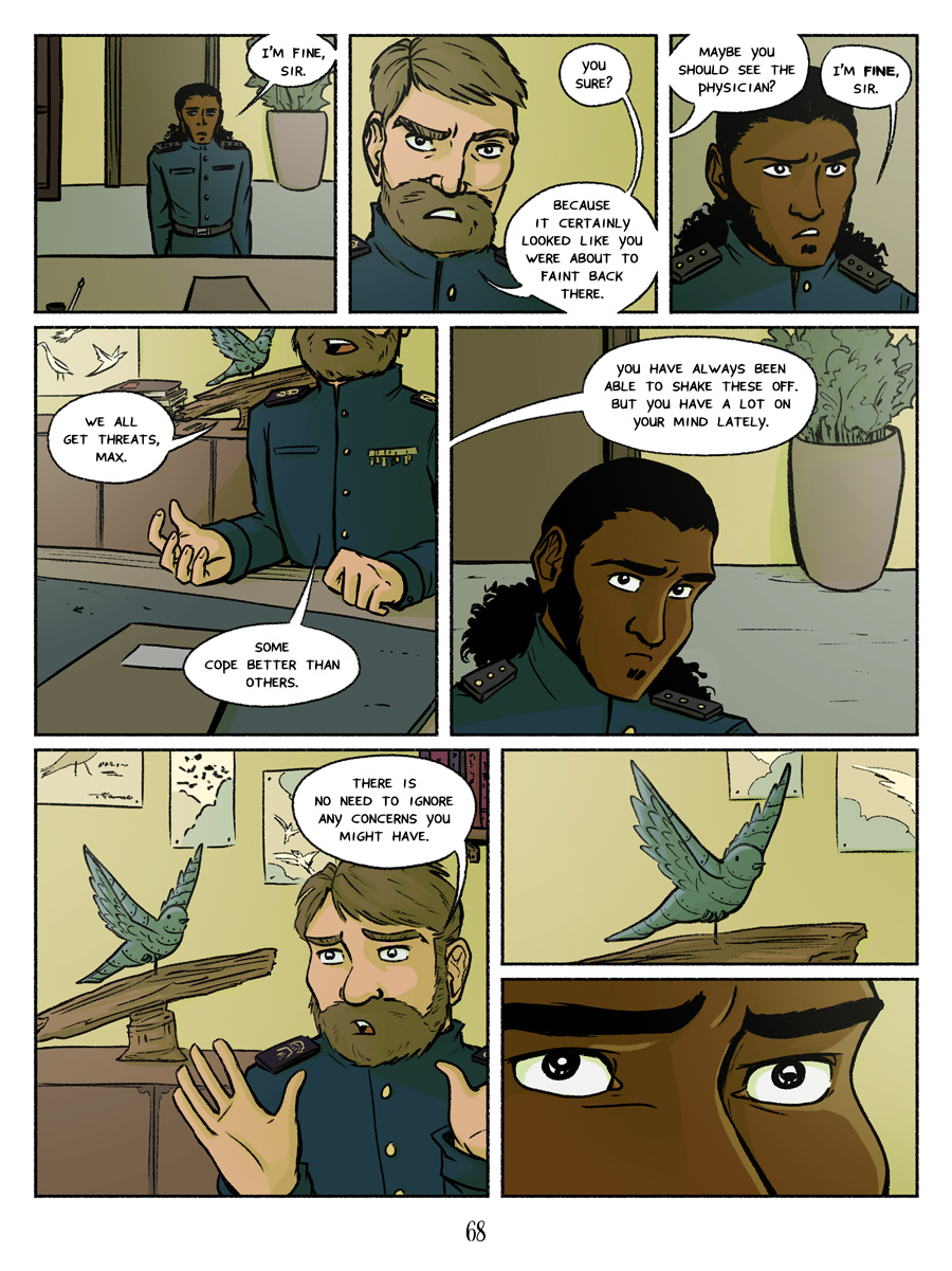 Recollection City page 68 - You're not off the hook so easily
