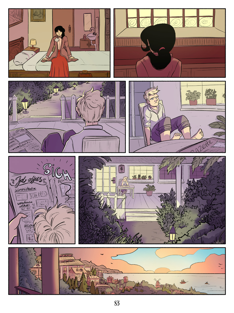Recollection City page 83 - Sunset
