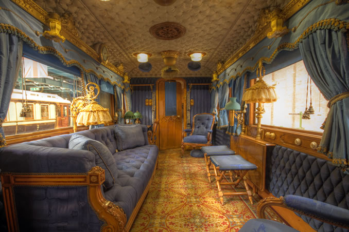 Queen Victoria's Palace on Wheels