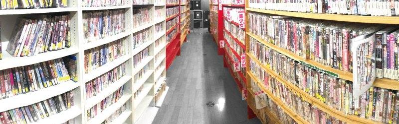 DVD売り場