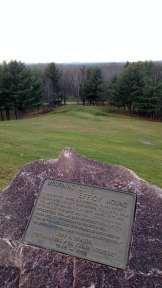 Mourning Dove Effigy Mound at the Highground