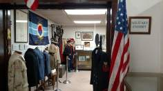 Military Exhibit at TCHS