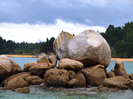 Split Apple Rock - Südinsel