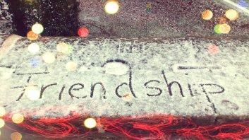 Freundschaften - alte und neue