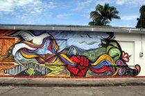Dieses Wandgemälde stammt von José D. Gamboa.