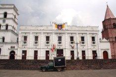 Dieses hier ist der Palacio Municipal - So etwas wie das Rathaus.