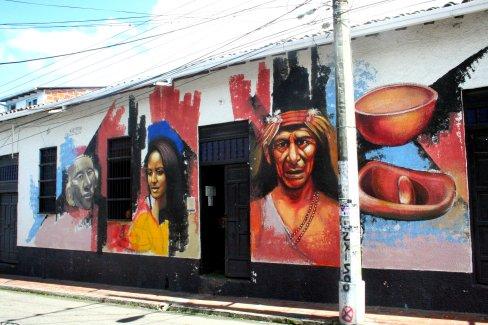 Laut Angel sind dies Gesichtszüge der indigenen Bevölkerung Kolumbiens.