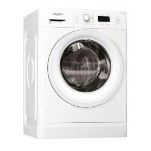 Masina de spalat Whirlpool FWL61252W EU, 6kg, 1200 rpm, 10 programe, FreshCare+, Optiune intarziere program, SoftMove, A++, Alb reducere Emag