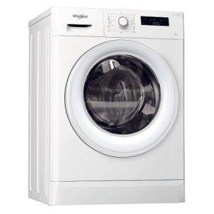 Masina de spalat rufe Whirlpool FreshCare FWSF61053W EU, 6 kg, 1000 RPM, Clasa A+++, Alb reducere Emag